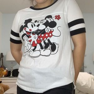 Disney Mickey Mouse varsity Tee